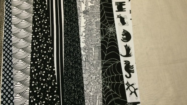 8th fabric strip