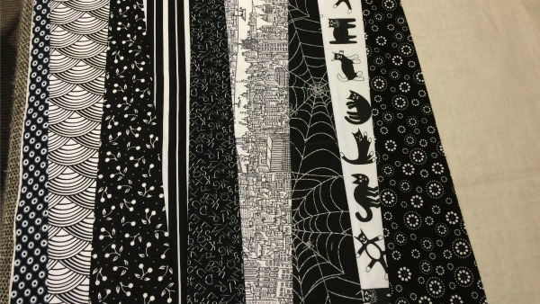 9th fabric strip
