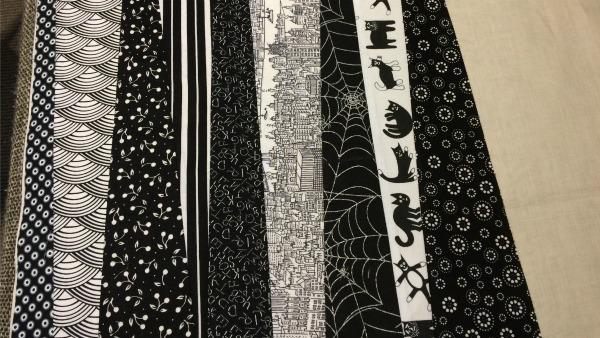 9th fabric strip