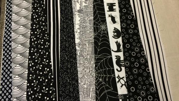 10th fabric strip