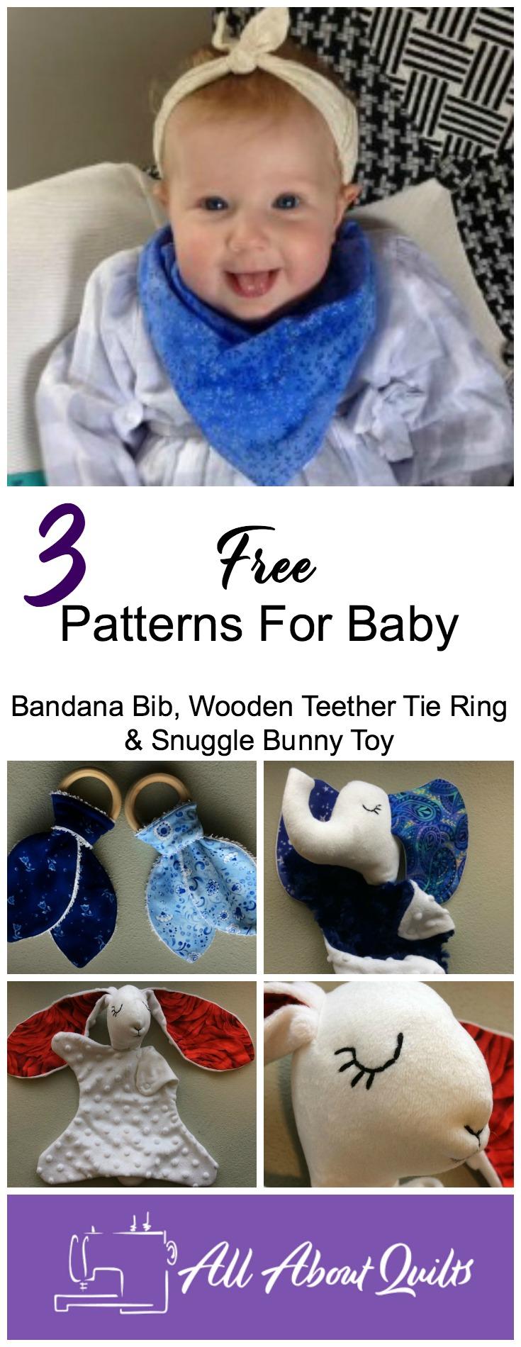 3 Free baby patterns