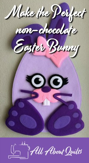 Felt Easter Bunny the perfect gift for Easter