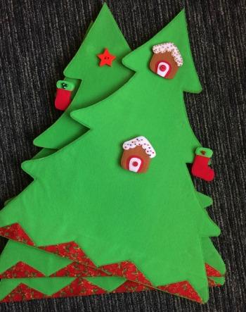 3D felt Christmas tree