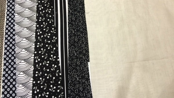 5th fabric strip added
