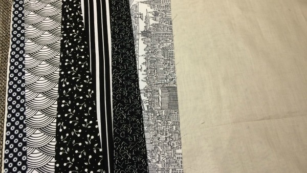 6th fabric strip