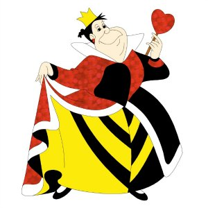 Alice in Wonderland EQ7 Queen of Hearts