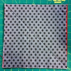 Stitch block on diagonal