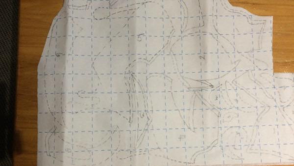 Pattern on webbing