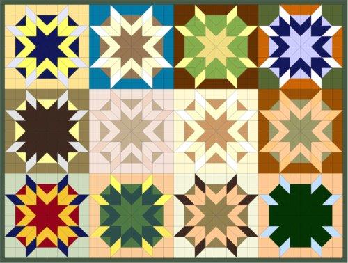Stunning Star Quilt Patterns