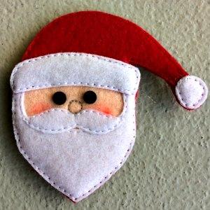 Felt Santa