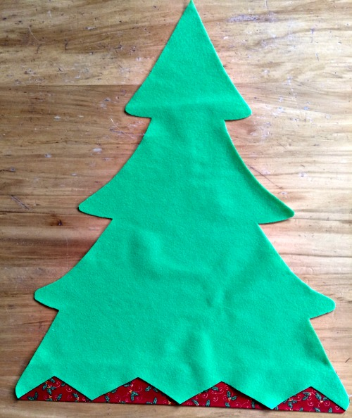 Felt Christmas Tree Pattern.Felt Christmas Tree