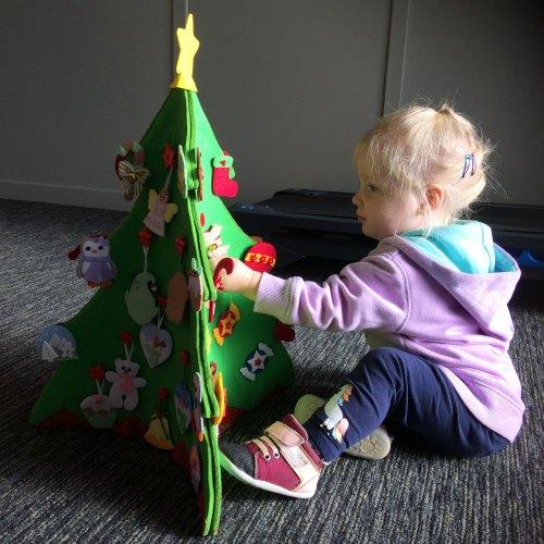 Felt Christmas Tree 1
