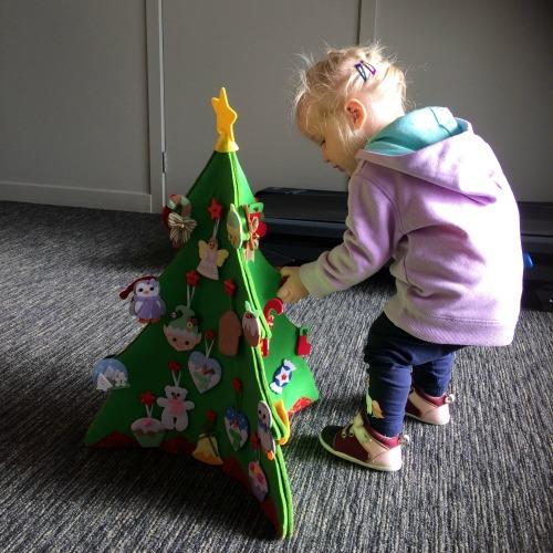 Felt Christmas Tree 2