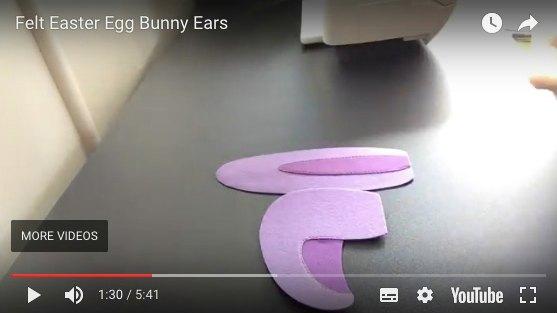 Felt Easter Bunny Ears