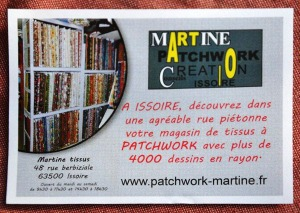 Patchwork Martine