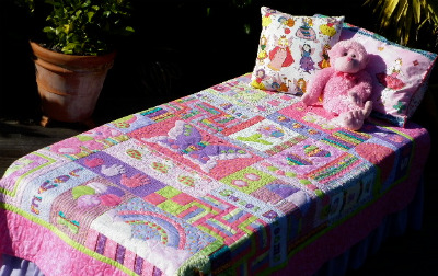 Snuggly Free Rag Quilt Patterns | FaveQuilts.com