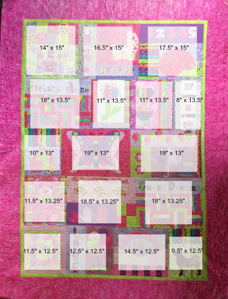 Childrens Quilt Template