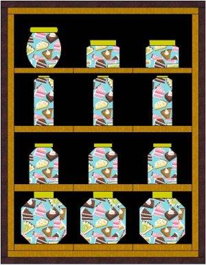 Jar Blocks : canning jar quilt pattern - Adamdwight.com