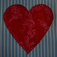 Appliqué Heart Quilt