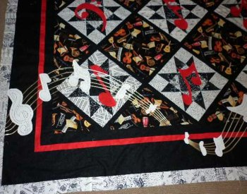 Jennifers Music Quilt