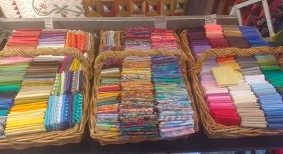 Carol Cox quilt shop fabrics