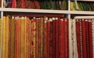 Stoffhjørnet fabrics