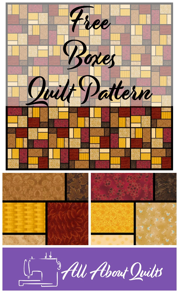 Free Boxes quilt pattern