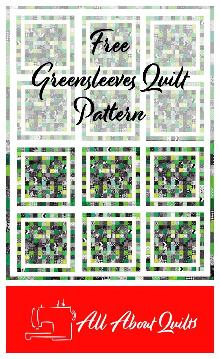 Free Greensleeves quilt pattern