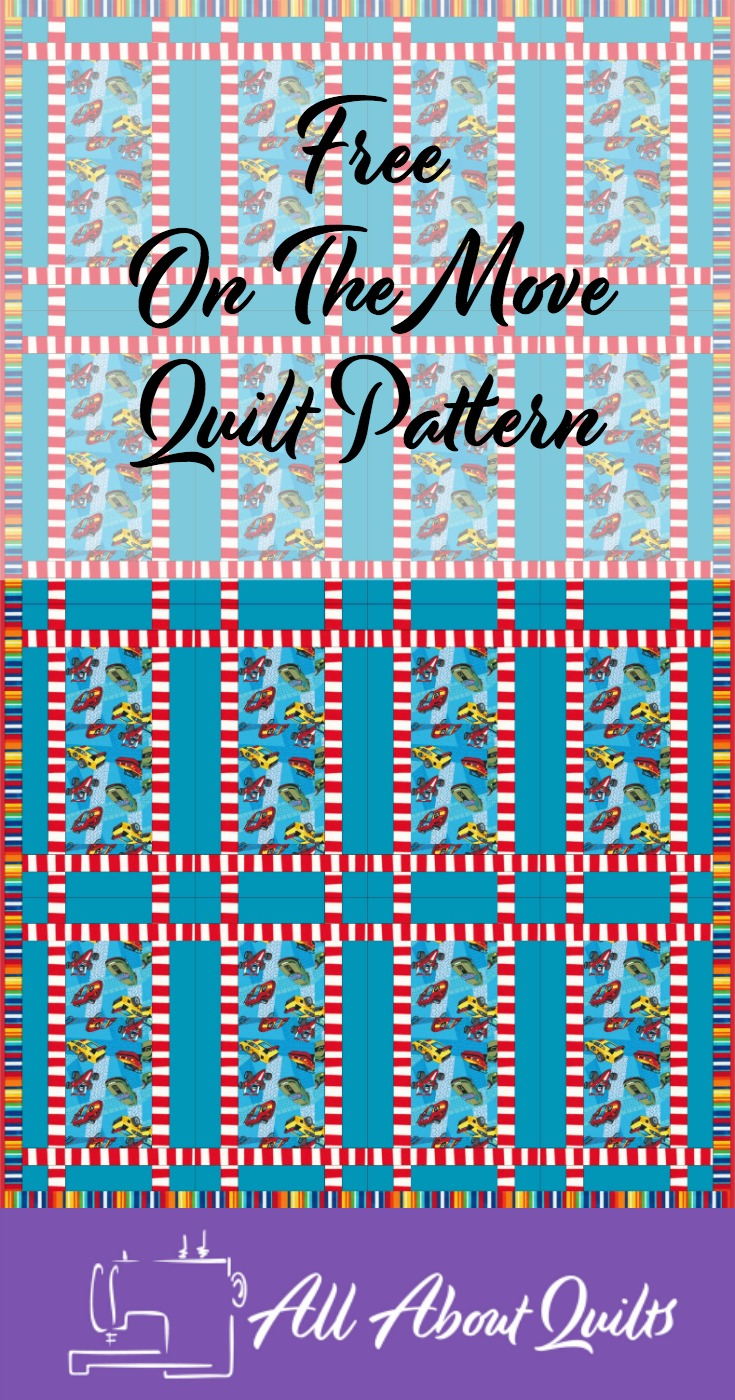 Free On The Move quilt pattern