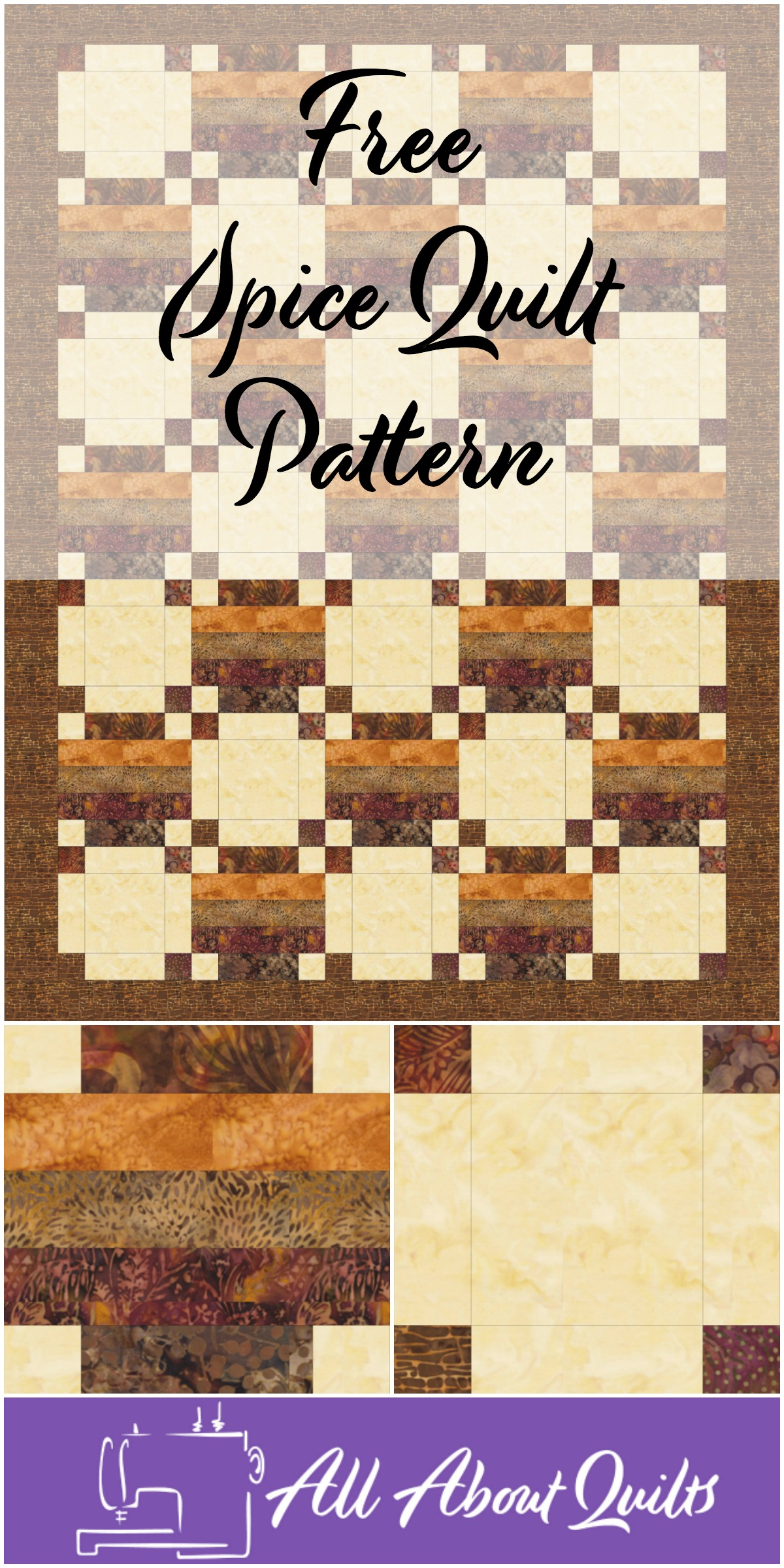 Free Spice quilt pattern