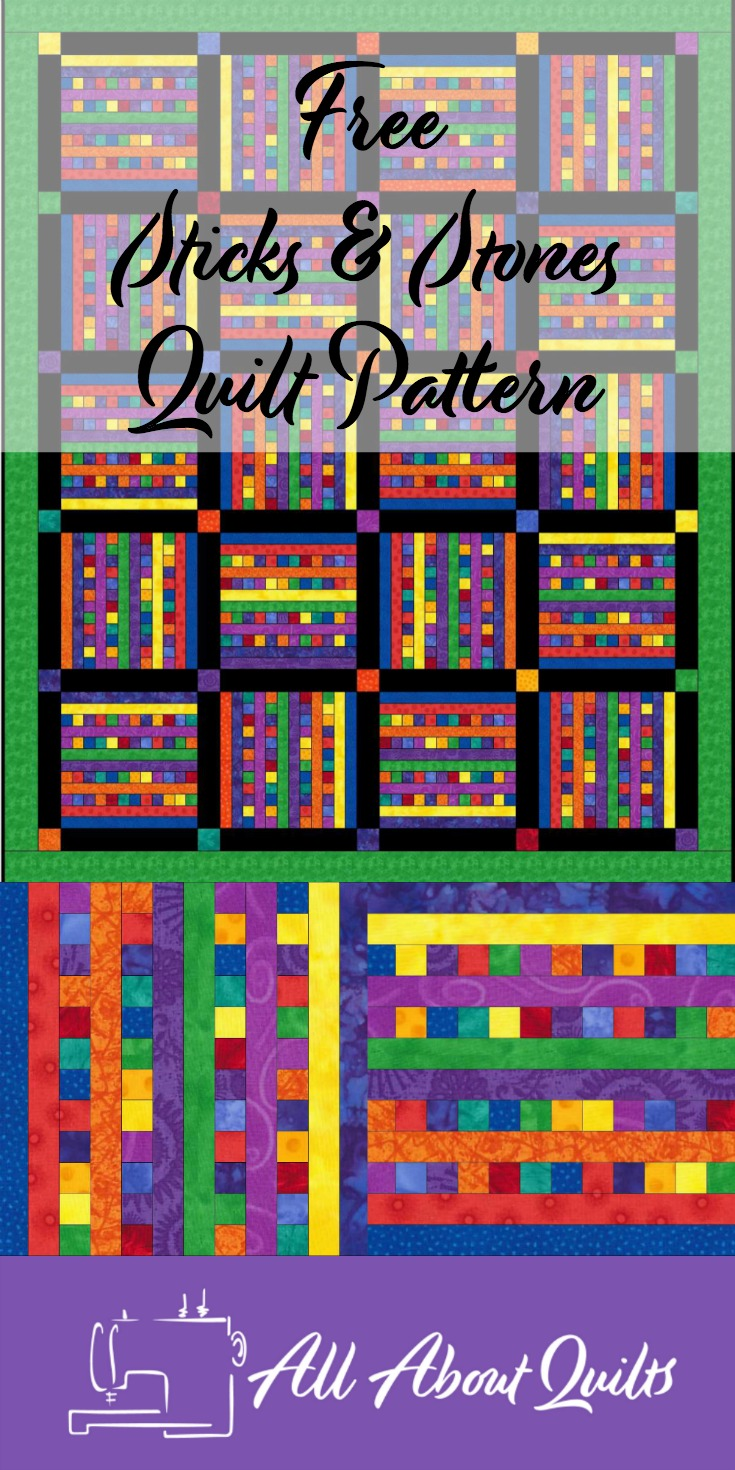 Free Sticks & Stones quilt pattern