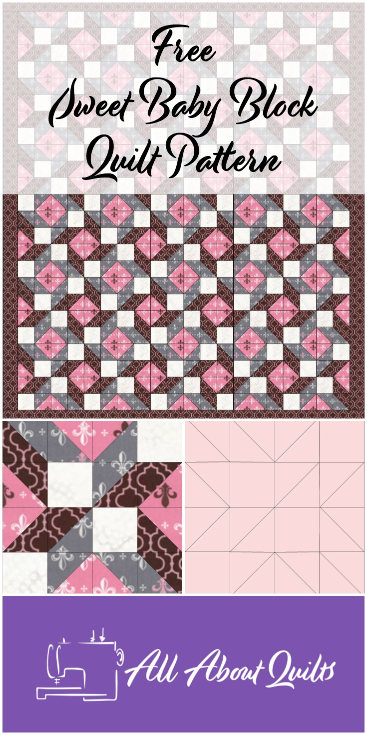 Free Sweet Baby Block quilt pattern