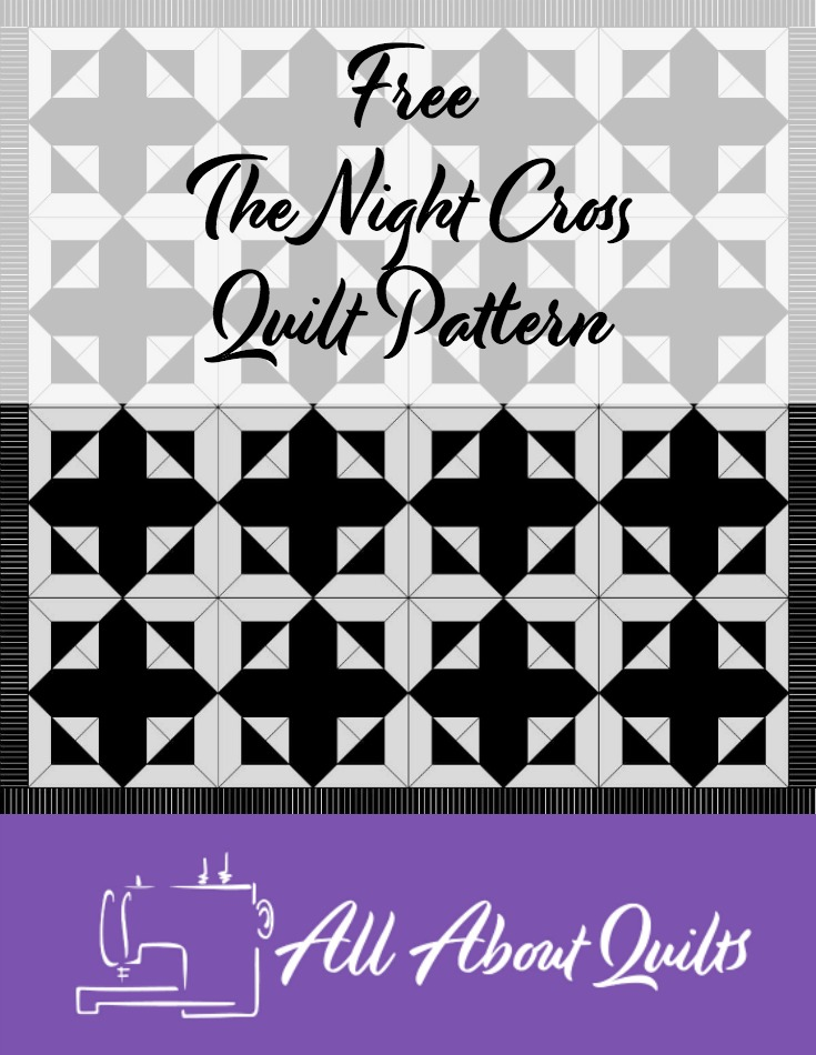 Free The Night Cross quilt pattern