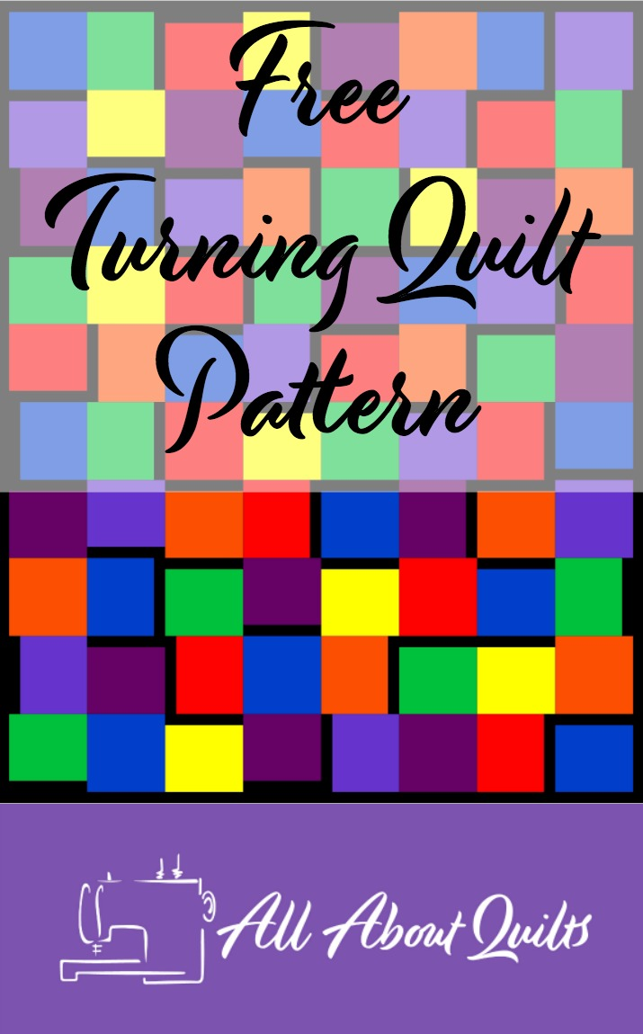 Free Turning quilt pattern