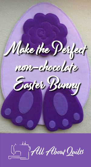 Make the perfect non-chocolate Easter Bunny Toy