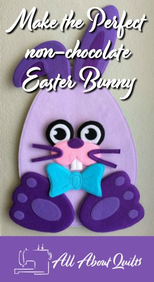 Make the perfect non-chocolate Easter Bunny Toy this Easter