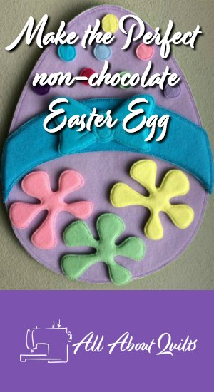 Felt Easter Egg toy the perfect gift for Easter