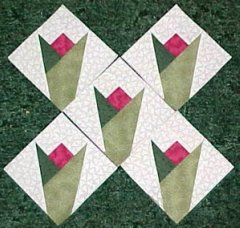 Free Paper Pieced Block Patterns from Carol Doak / Quilting Gallery