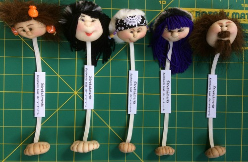 Stretchmark Bookmark Family