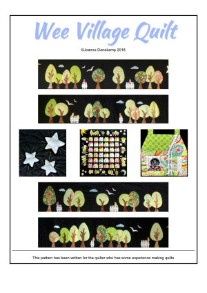 Wee Village Quilt Pattern