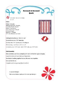 Around & Around Quilt Pattern