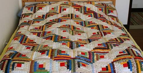 Barn Raising Quilt Pattern Free Knitting : Barn Raising