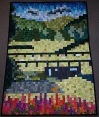 Challenge row quilt
