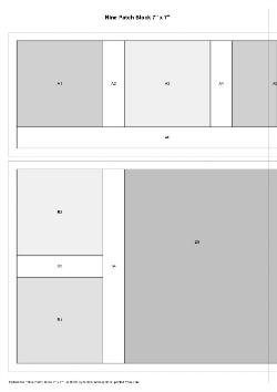 Nine Patch Block Foundation Pattern