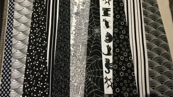 11th fabric strip