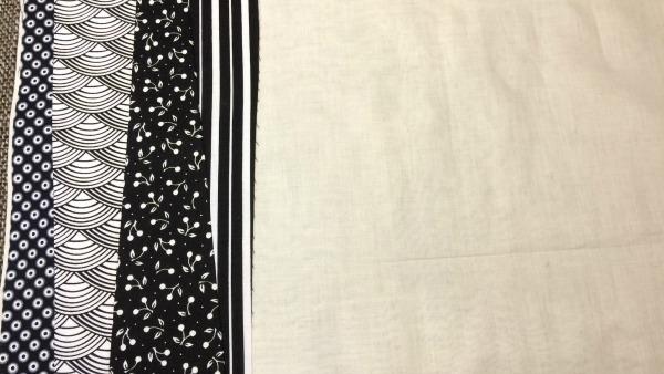 4th fabric strip added