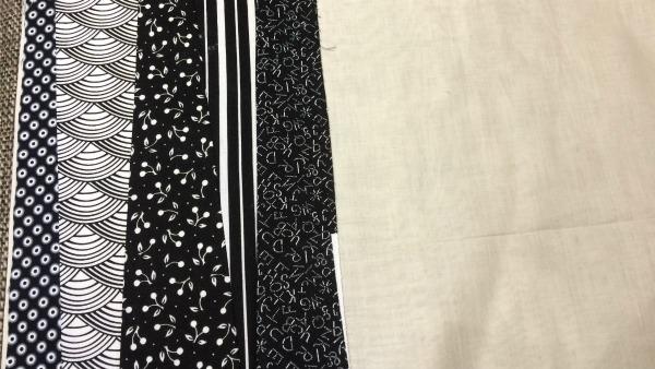 5th fabric strip added