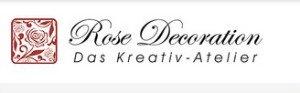 Rose Decoration - Das Kreativ - Atelier