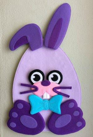 Felt Easter Bunny boy