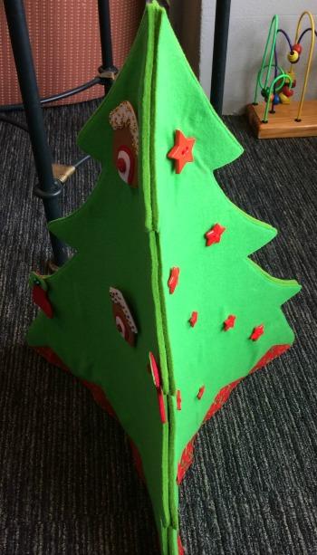 Felt Christmas Tree Tips